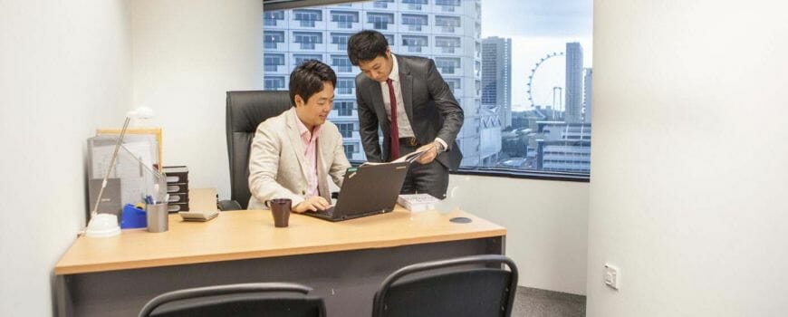 Singapore Serviced Office For Rent