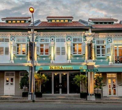 Keong Saik Road Shophouse